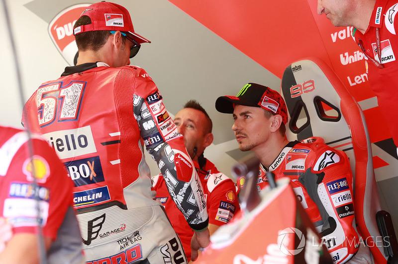 Мікеле Пірро, Хорхе Лоренсо, Ducati Team