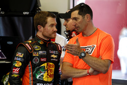 Brian Vickers, Stewart-Haas Racing Chevrolet with Max Papis