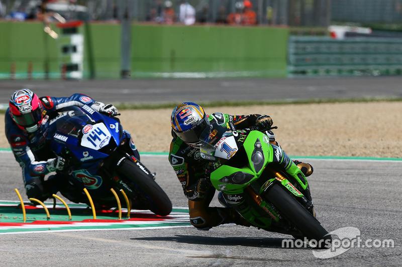 Kenan Sofuoglu, Kawasaki Puccetti Racing, Lucas Mahias, GRT Yamaha Official WorldSSP Team