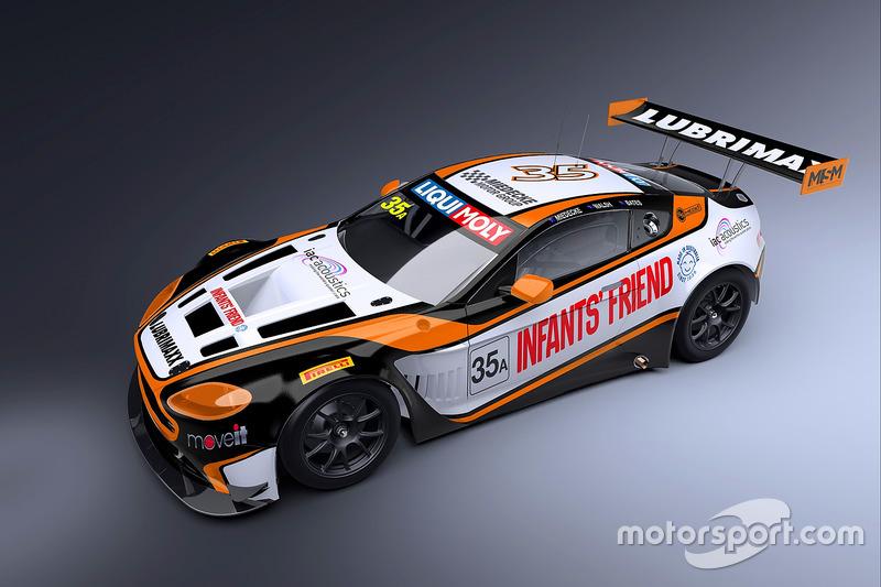 Miedecke Stone Motorsport livery unveil