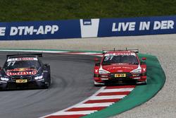 Marco Wittmann, BMW Team RMG, BMW M4 DTM, Nico Müller, Audi Sport Team Abt Sportsline, Audi RS 5 DTM