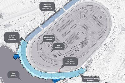Umbau: Phoenix Raceway