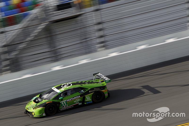 #11 GRT Grasser Racing Team Lamborghini Huracan GT3: Christian Engelhart, Rolf Ineichen, Ezequiel Perez Companc, Mirko Bortolotti