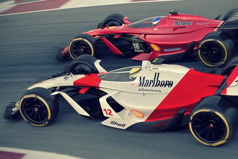 McLaren 2025 y Ferrari 2025