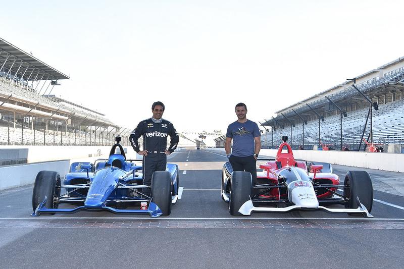 Chevrolet e Honda IndyCar 2018 con Juan Pablo Montoya e Oriol Servia