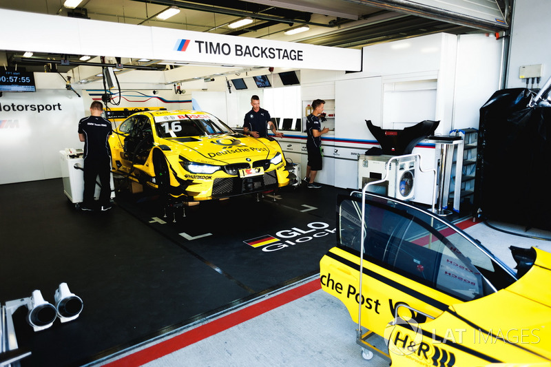 Coche de Timo Glock, BMW Team RMG, BMW M4 DTM