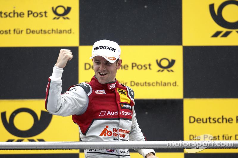 Gewinner: Jamie Green (Audi)