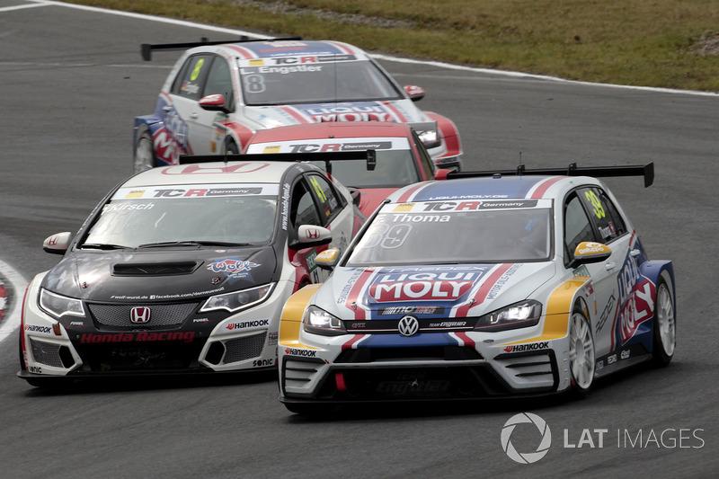 Florian Thoma, Liqui Moly Team Engstler, VW Golf GTI TCR, Steve Kirsch, Honda Team ADAC Sachsen, Honda Civic Type R-TCR