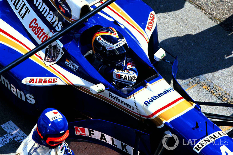 Хайнц-Харальд Френтцен, Williams FW19 Renault