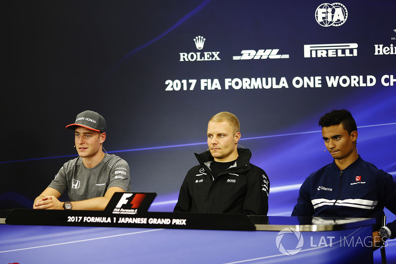 Стоффель Вандорн, McLaren, Валттері Боттас, Mercedes AMG F1, Паскаль Верлян, Sauber