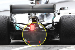 Mercedes F1 W08 diffuser