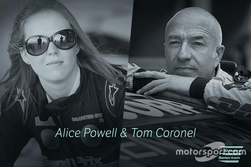 Alice Powell, Tom Coronel, Electric GT Championship