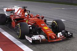 Победитель Себастьян Феттель, Ferrari SF70H