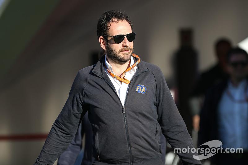 Пресс-атташе FIA Маттео Бончиани