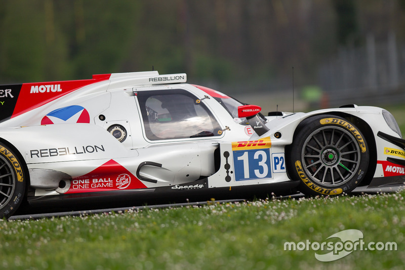 #13 Vaillante Rebellion Racing, Oreca 07 Gibson: Mathias Beche, David Heinemeier Hansson