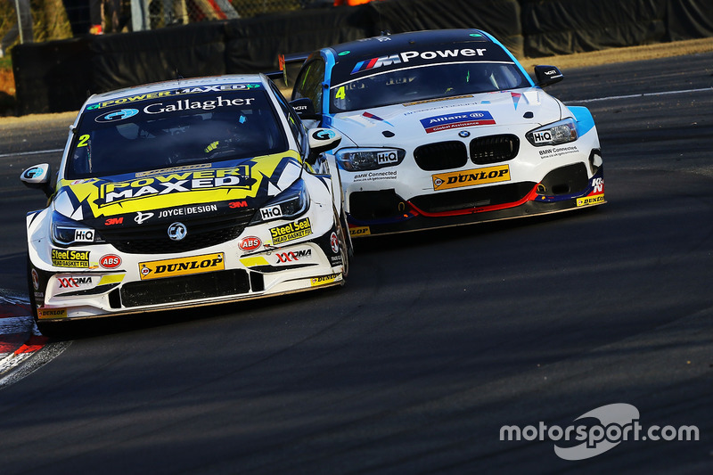 Tom Chilton, Power Maxed Racing Vauxhall Astra y Colin Turkington, Team BMW BMW 125i M Sport