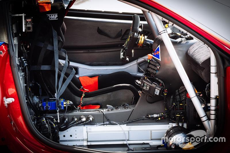 #51 AF Corse Ferrari 488 GTE, detail
