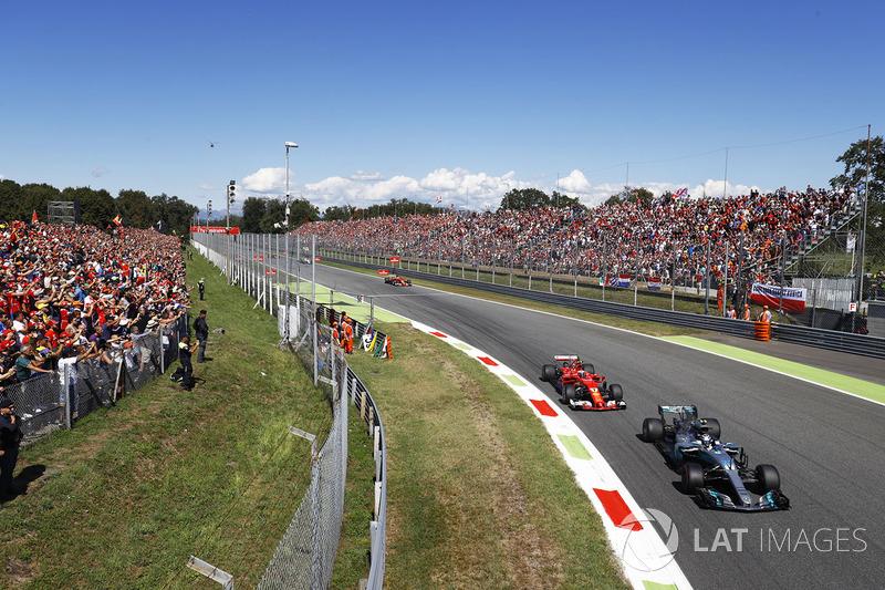 Bottas pasó a Raikkonen en la segunda vuelta y eso acabó siendo clave. De haber conseguido seguir delante...