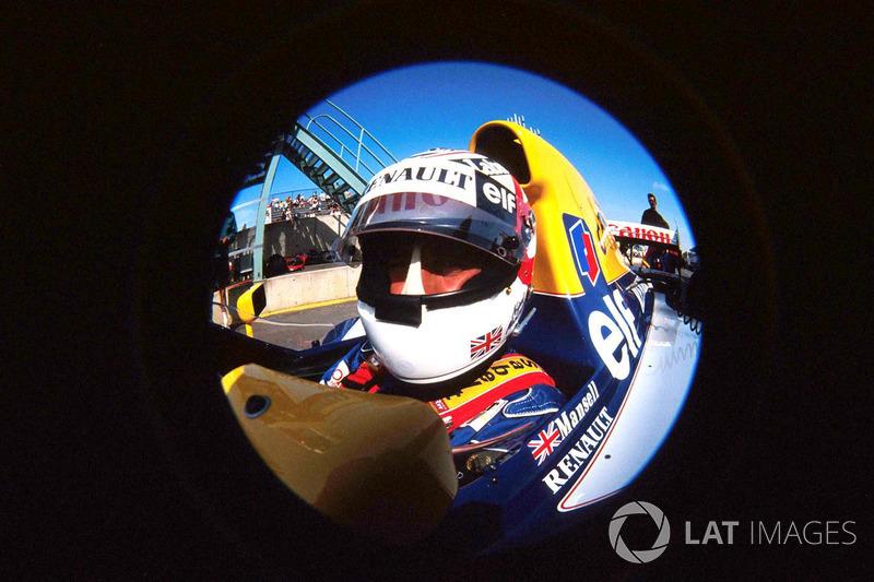 Mansell se tornou campeão mundial em sua 13ª temporada na F1. Nenhum outro piloto demorou tanto para selar um título.