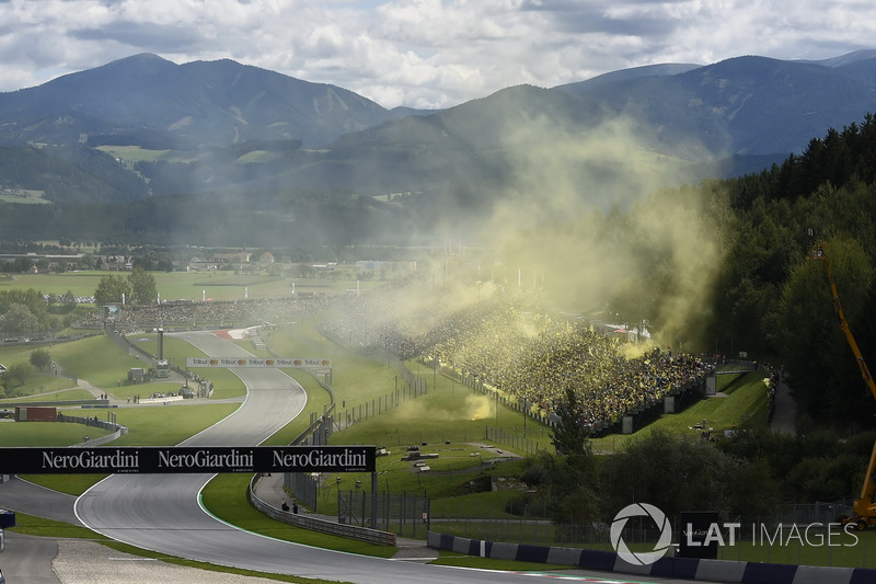 Stimmung am Red-Bull-Ring in Spielberg