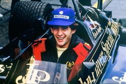 Ayrton Senna im Lotus 97T von Elio de Angelis