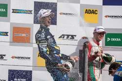 Podium: second place Ferdinand Habsburg, Carlin, Dallara F317 - Volkswagen, third place Maximilian Günther, Prema Powerteam, Dallara F317 - Mercedes-Benz