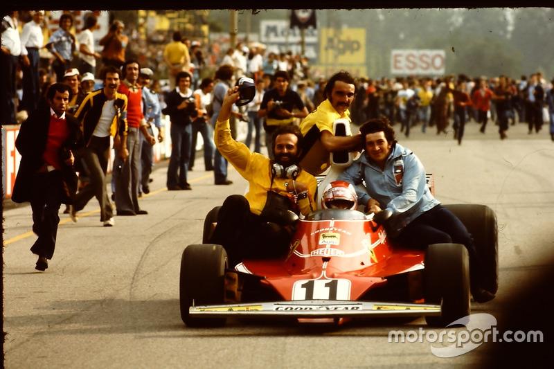 Clay Regazzoni, Ferrari