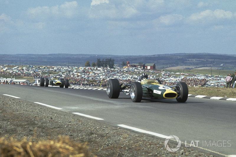 #11: Graham Hill, Lotus 49, Watkins Glen 1967: 1:05,480