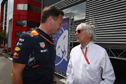 Керівник Red Bull Крістіан Хорнер, Берні Екклстоун
