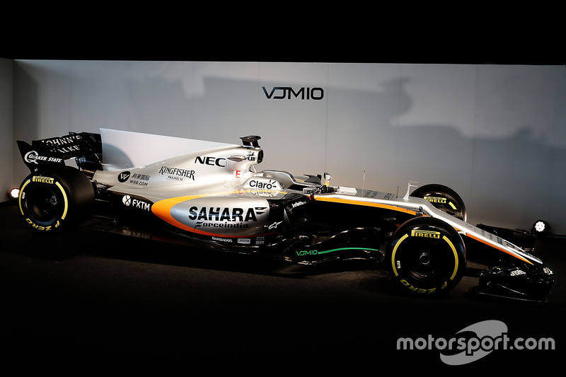 El Sahara Force India F1 VJM10