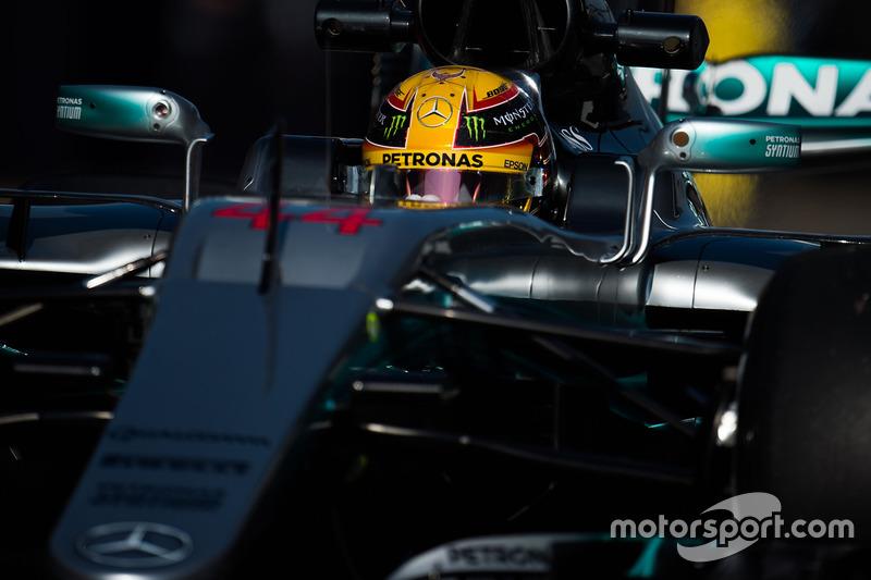 10. Lewis Hamilton, Mercedes AMG F1 W08