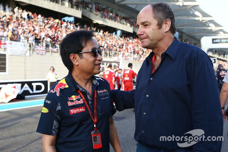 Chalerm Yoovidhya, Red Bull Racing copropietario con Gerhard Berger en la red