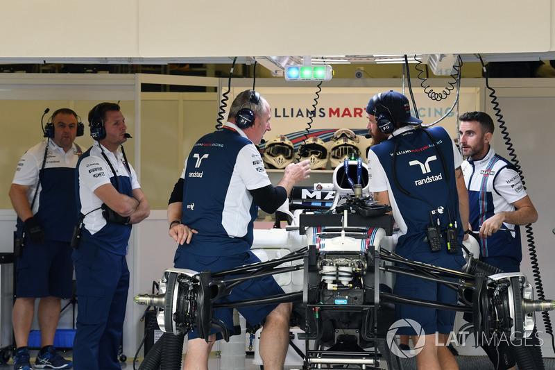 Детали передней части Williams FW40