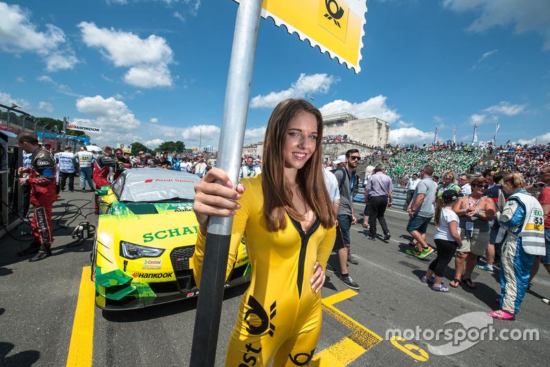 Grid kızı, Mike Rockenfeller, Audi Sport Team Phoenix, Audi RS 5 DTM