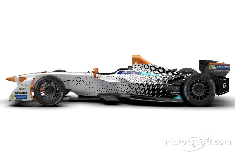 ألوان سيارة فريق دراغون ريسينغ