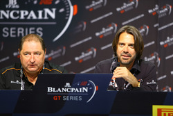Stephane Ratel, CEO OF SRO Motorsport Group and Alain Delamuraz, Vice President of Blancpain Watches