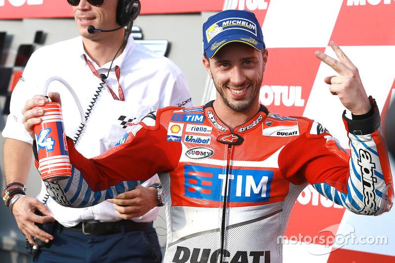 المركز الثاني أندريا دوفيزيوزو، فريق دوكاتي