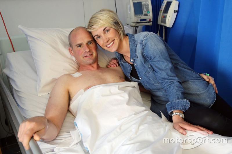 Ryan Farquhar with his wife Karen Farquhar