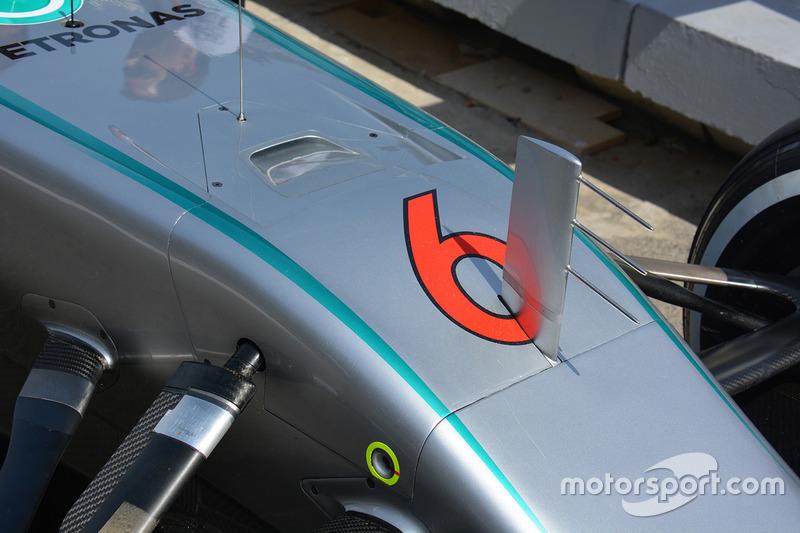 Ніс Mercedes AMG F1