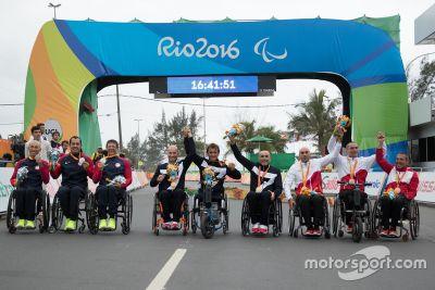 Alex Zanardi en los Juegos Paralímpicos