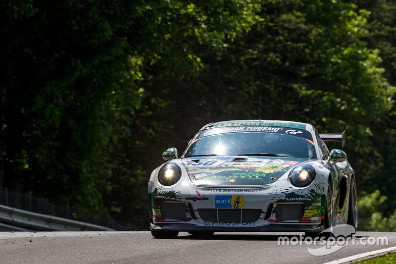 #350 Prosport-Performance, Porsche Cayman GT4 CS: Charles Putman, Charles Espenlaub, Nico Verdonck, Xavier Maassen