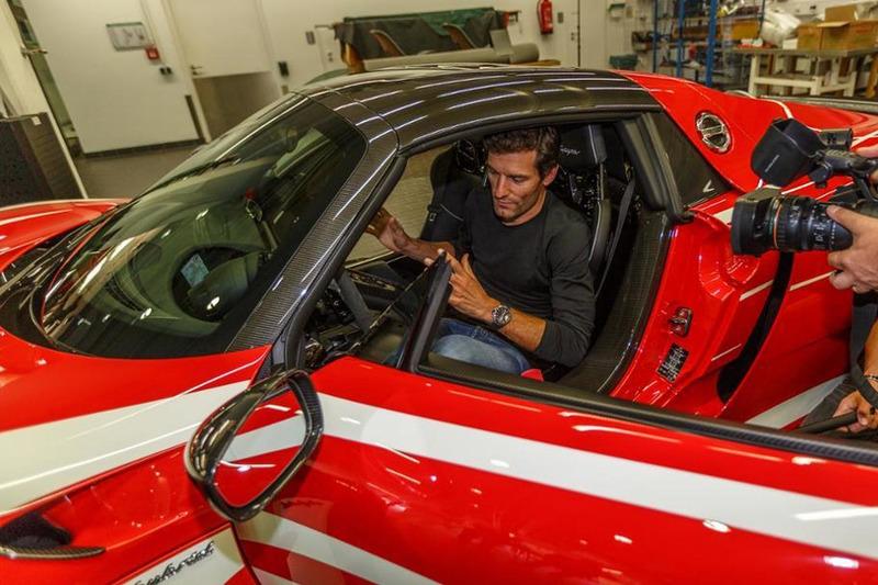 Mark Webber - Porsche 918 Spyder