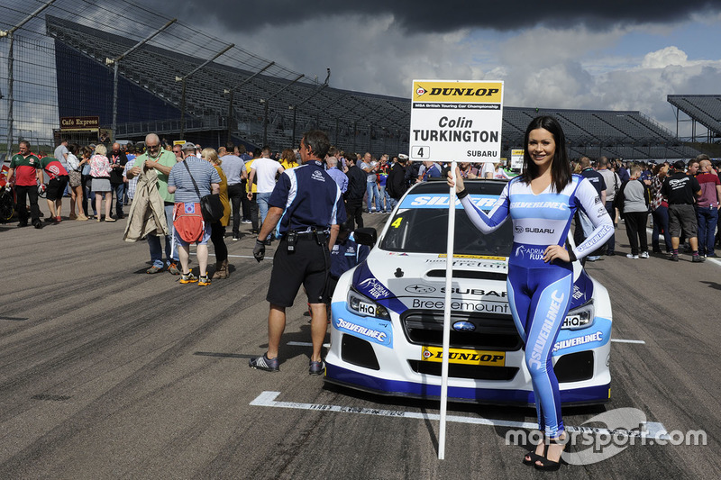 Grid kızı, Colin Turkington, Silverline Subaru BMR Racing