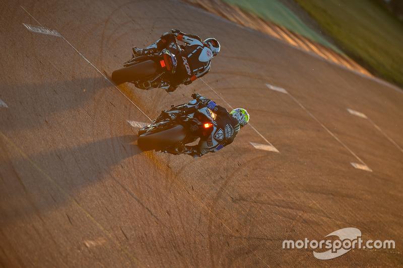 #32, Team Rabid Transit, Yamaha: Sheridan Morais, Brandon Cretu, Ivan Silva