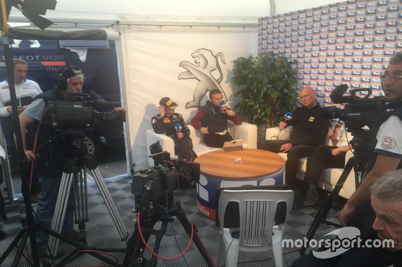 Anna Andreussi, Peugeot Sport nell'hospitality