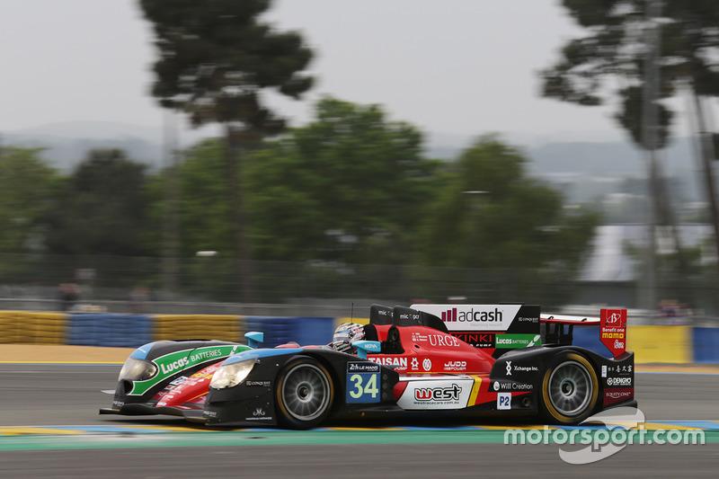 30: #34 Race Performance Oreca 03R - Judd: Nicolas Leutwiler, James Winslow, Shinji Nakano