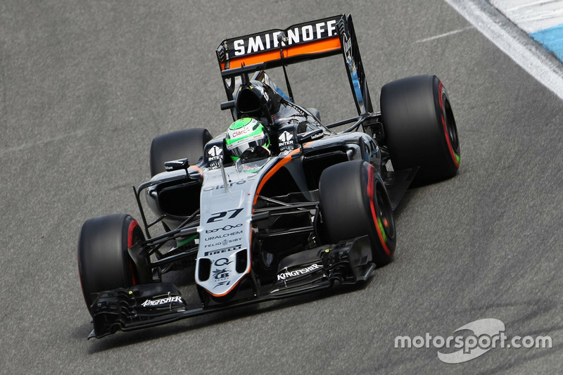10. Nico Hülkenberg, Sahara Force India