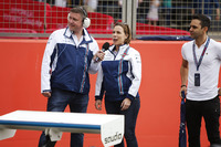 David Croft, Claire Williams, Antonio Pizzonia