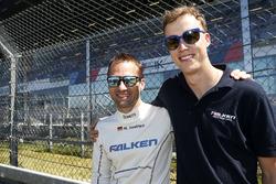#33 Falken Motorsports, BMW M6 GT3: Stef Dusseldorp, Marco Seefried