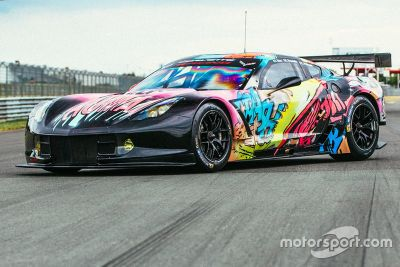 Pintura especial do Corvette da Larbre